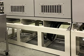Raised-floor control equipment to handle leakage