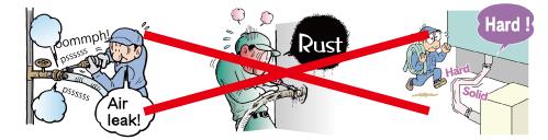 Reduction of maintenance burdens